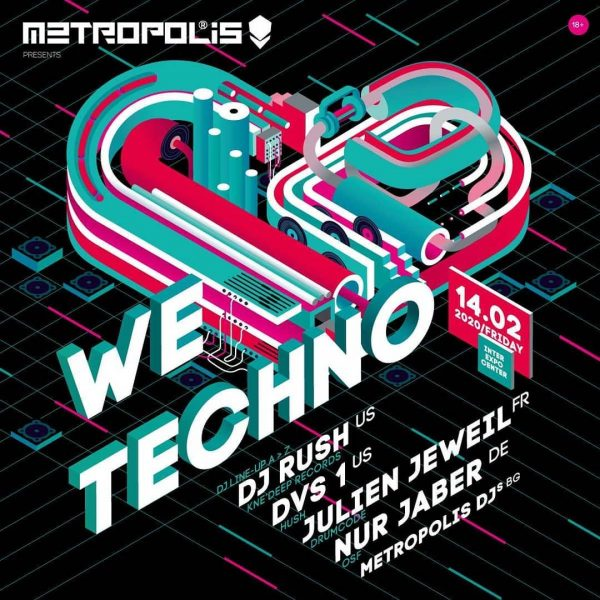 Metropolis We Love Techno – Square